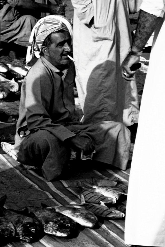 Fischmarkt am Strand, Sohar (Al Batinah North)