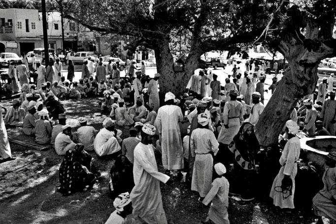 Freitagsmarkt in Nizwa (Ad Dakhliyah)