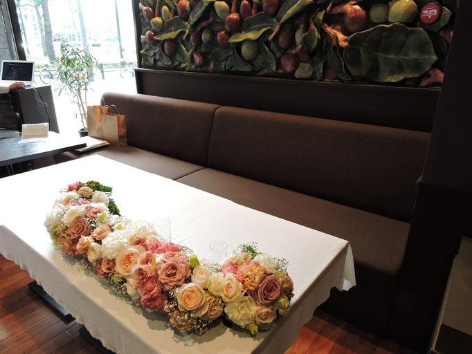 アーセンティア迎賓館での披露宴のあと二次会はリバーべ