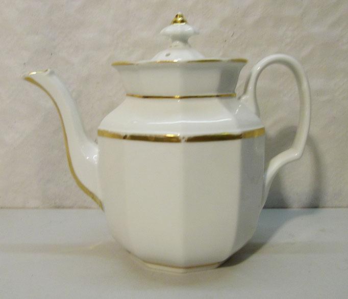 4314/ Teekanne ~ 1930, ohne Marke, H 21cm, EUR 30,-