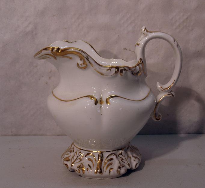 4246/ Milchkännchen ~1900, o. Marke, H 15cm, EUR 24,-