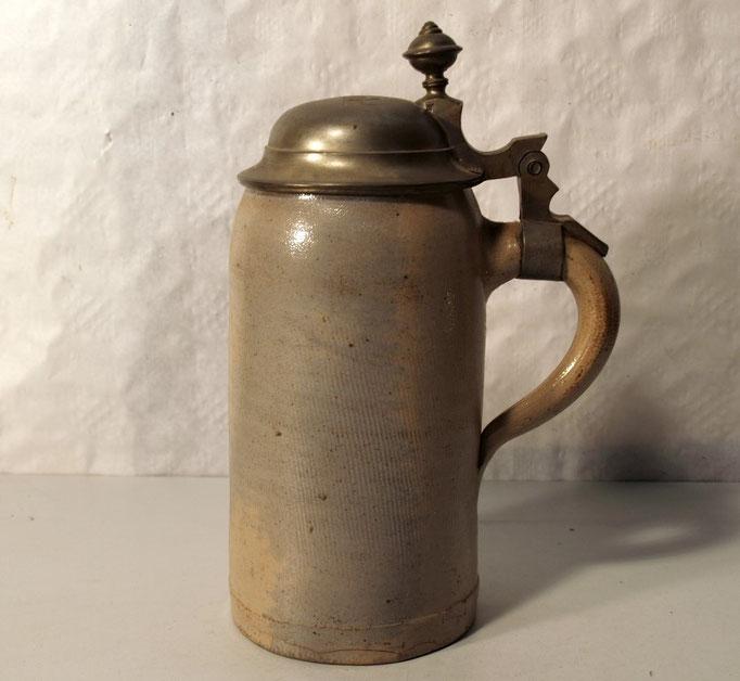 """3884/Maßkrug ~1900, """"K.Miedel"""", H 23cm, EUR 55,-"""