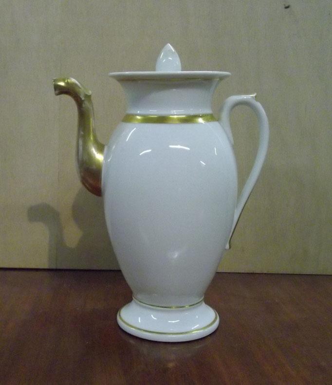 3276/Kaffeekanne ~1810, o.Marke, H 28 cm, EUR 45,-