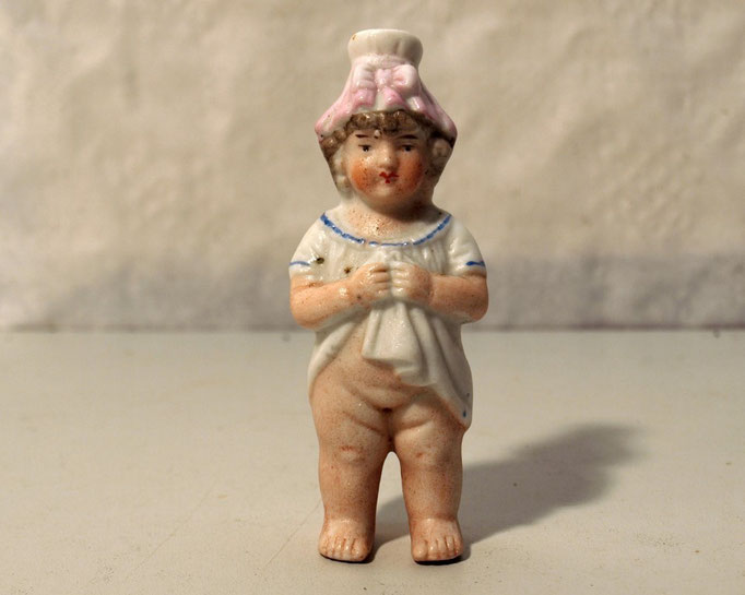 3755/Vase in Puppenform ~1860, englisch, H 7cm, EUR 48,-