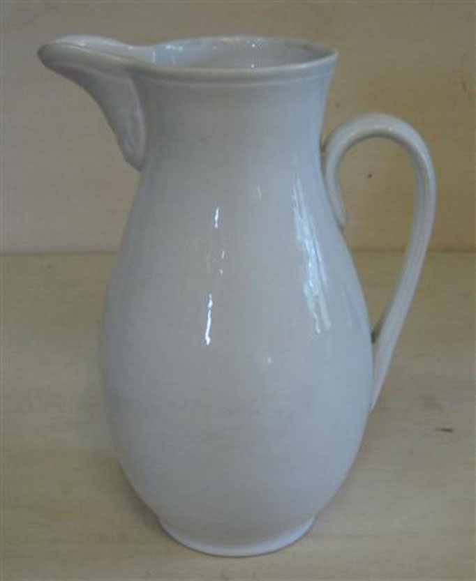 "2134/Milchkanne ~1900, Marke ""SPM"", H 19 cm, EUR 38,-"