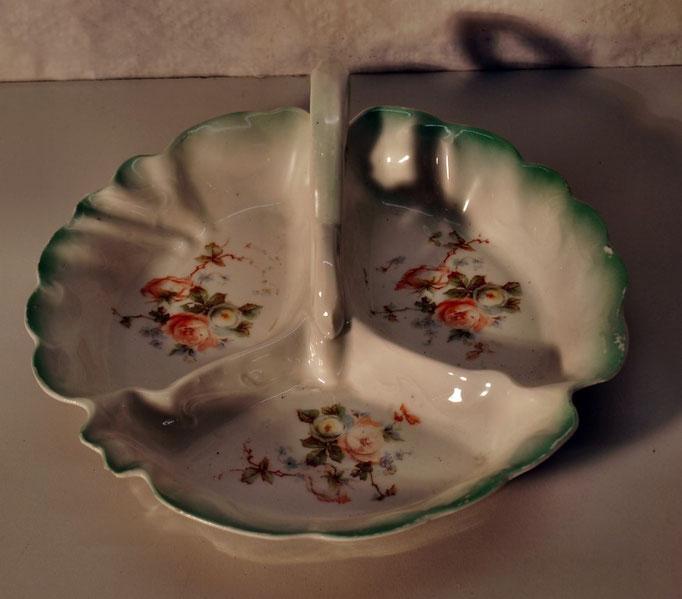 4003/Henkelschale ~1900, o.Marke, L 23cm, EUR 32,-