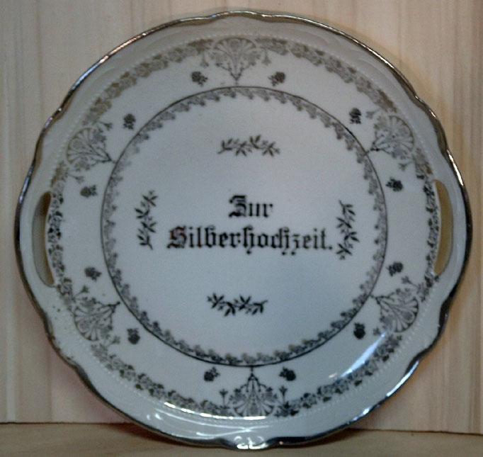 0477/Kuchenteller ~ 1900, ohne Marke, Ø 27 cm, EUR 24,-