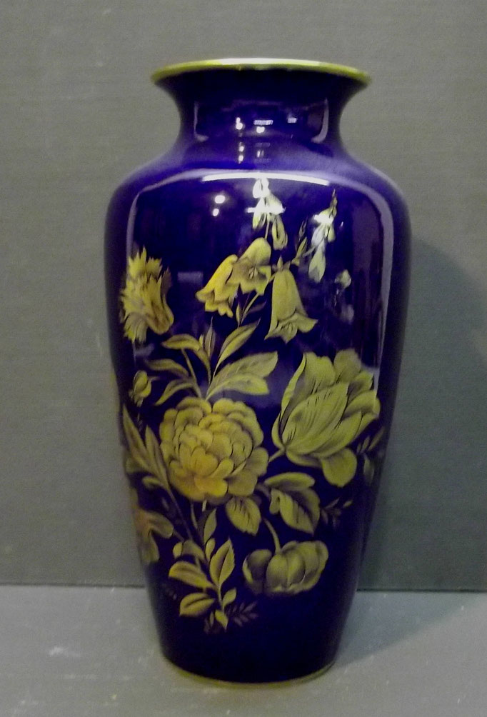 4367/ Vase ~1960, KPM Echt Kobalt, H 23cm, EUR 38,-