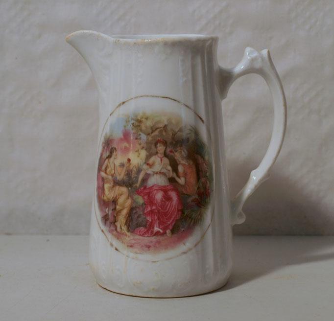 3984/Milchkännchen ~1900, o.Marke, H 14,5cm, EUR 38,-