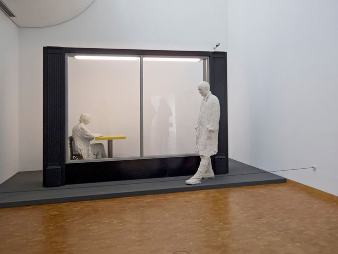 George Segal, The Restaurant Window, 1967