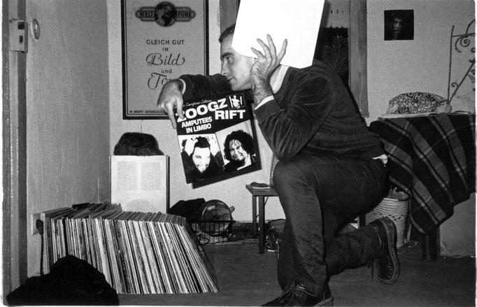 Christof mit Zoogz Rift-Platte 1986