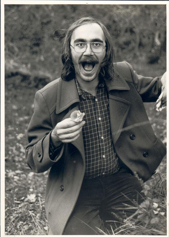 Roger auf Pilzsuche