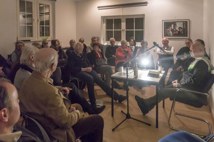 Gesprächsrunde mit Florian Neuner