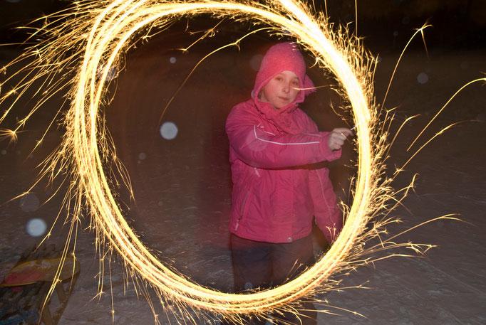 Meine Tochter Julia im Winter 2009