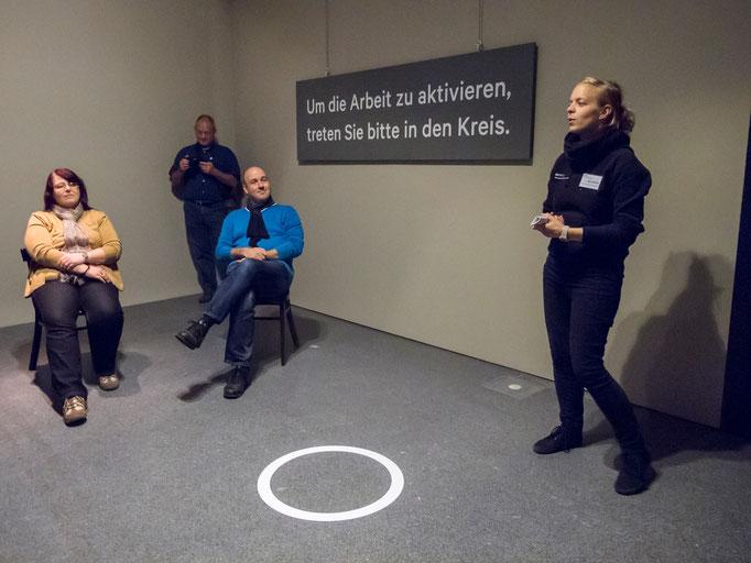 Führung durch die Ausstellung