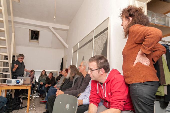 Diskussion mit Mattias Schamp