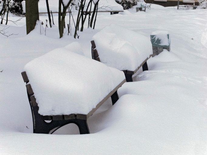 Essen-Frohnhausen, 40 cm Schnee, Dezember 2010