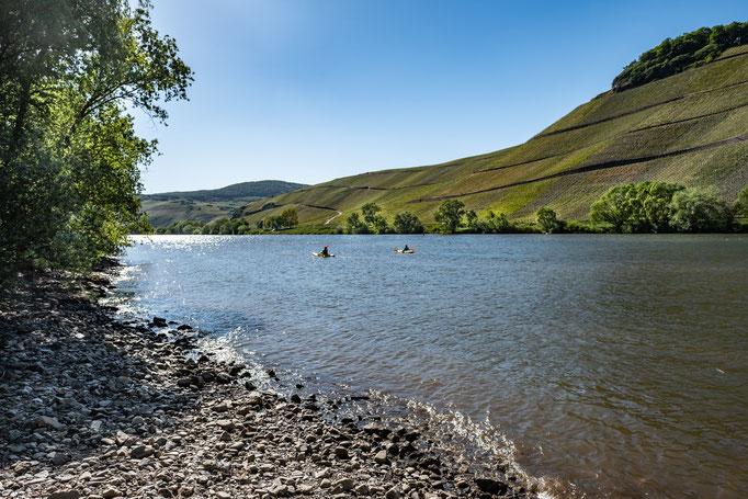 Erholsames Wasserwandern mit dem Kajak - Ferienwohnung Brauneberg bei Bernkastel - Kues
