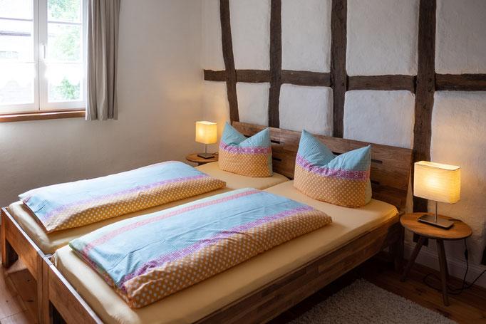 3. (3) Schlafzimmer - Ferienwohnung Brauneberg an der Mosel