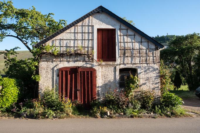 Kleines Gartenhäuschen an der Nussbaumallee - Mosel - Fachwerkhaus Brauneberg