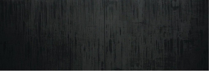 2002, oil on canvas, two part 150x400