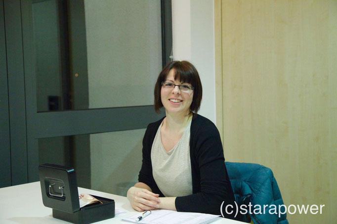 Unermüdlich: Rebecca Utz von der Gemeindeverwaltung Blaufelden
