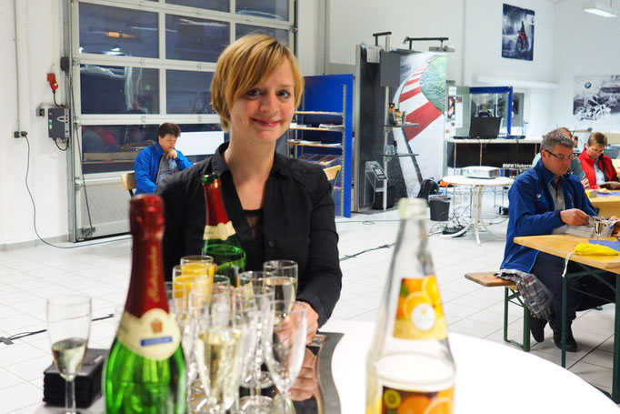 Gute Vorbereitung: Petra Oberender, Verkaufsberaterin BMW Motorrad