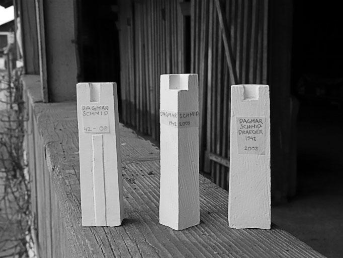 Grabstein Waldfriedhof Schaffhausen  -   Modell        -        Bildhauerei Wiedemer Basadingen - Thurgau