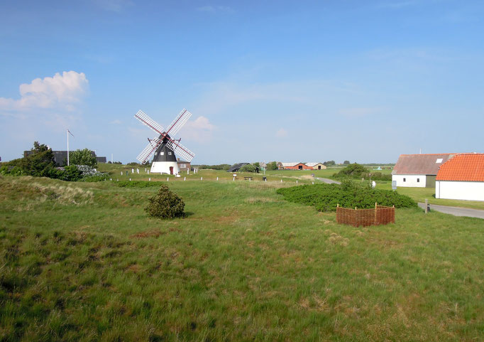 Wahrzeichen von Mandøist die alte Mühle. Foto: C. Schumann