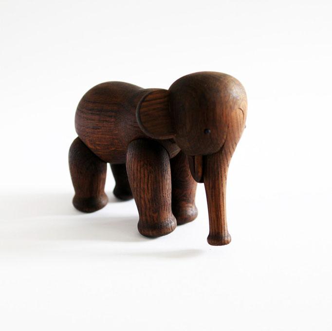 Vintage Kay Bojesen Teak Elefant