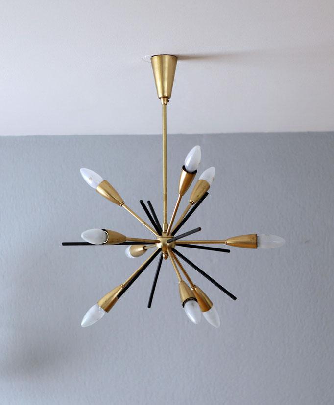 Sputnik Lampe 50er Jahre