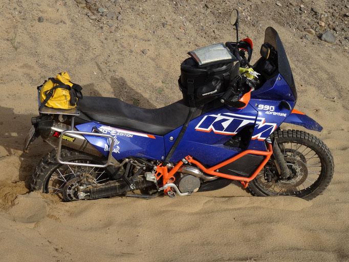 Sardinien 2015 KTM 990 a biserl schwer :-)