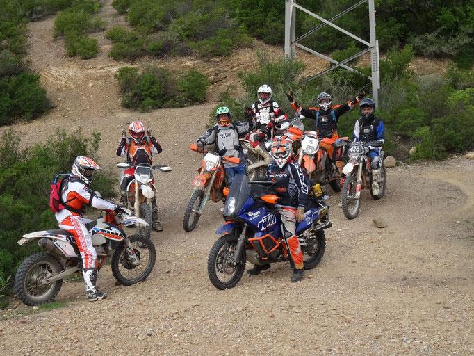 Sardinien 2015 KTM Gruppen Treffen