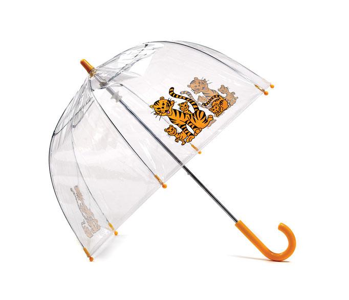 Kinderregenschirm - Tiger
