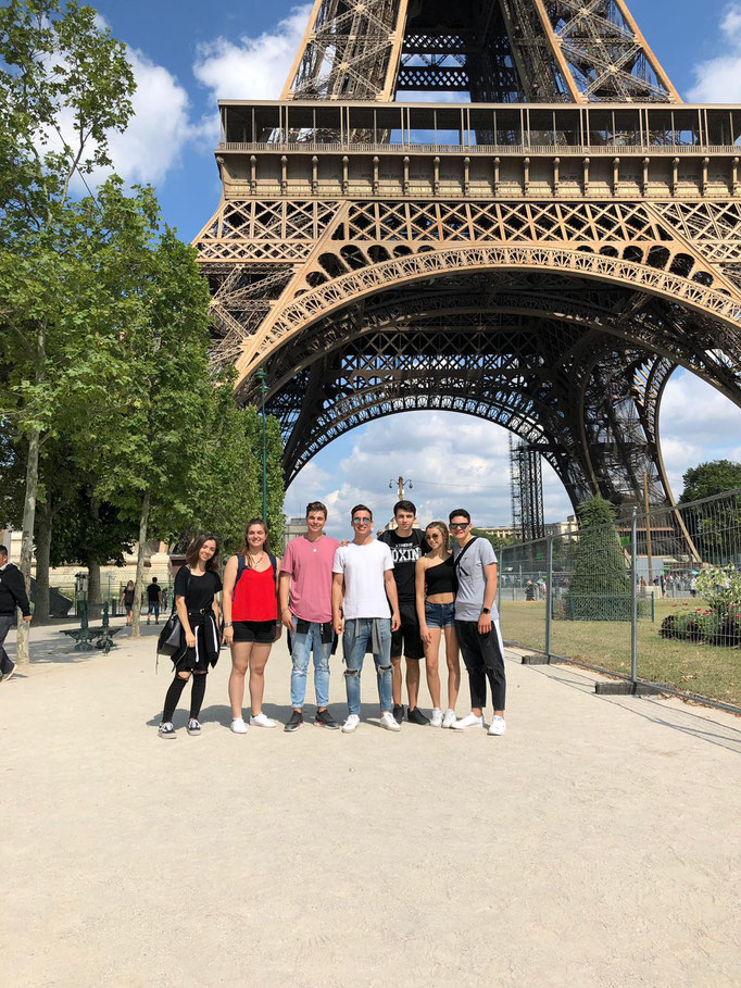 Visit to Paris