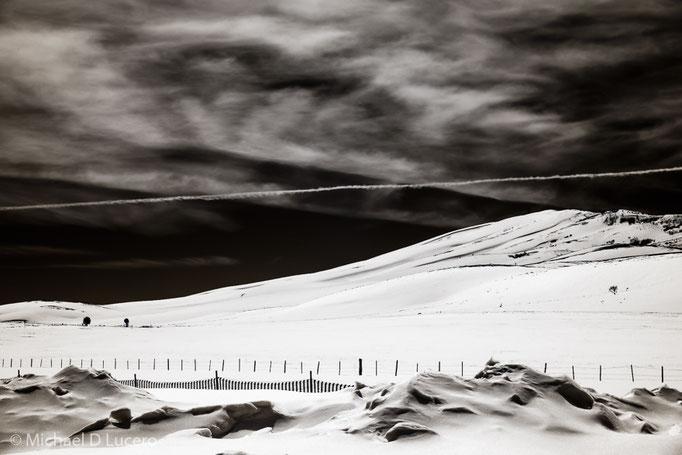 Snowfield near Fish Lake, Utah