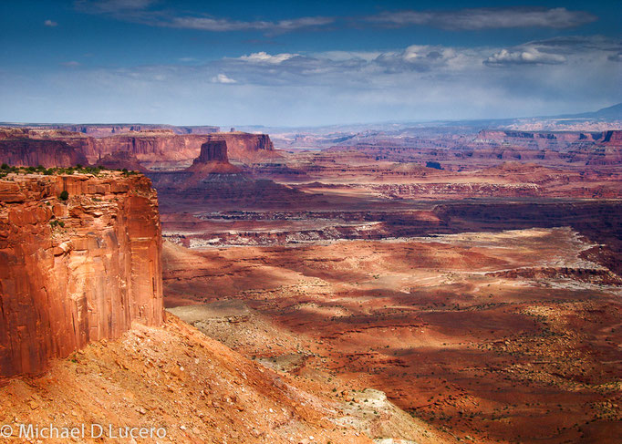 View from Island in the Sky District, Canyonlands National Park, Utah