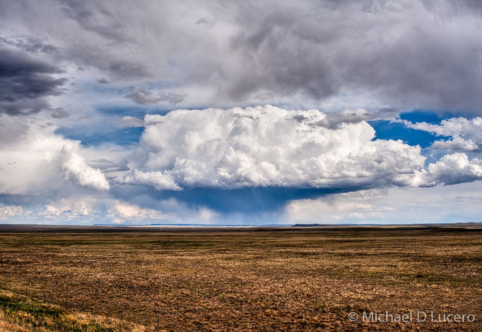 Clouds near Alamosa, Colorado