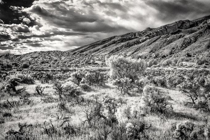 Inside Dinosaur National Monument, Utah
