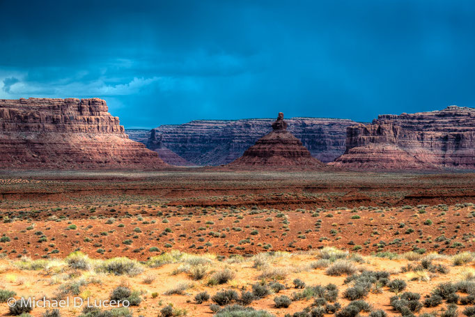 Storm over the Valley of the Gods, Utah