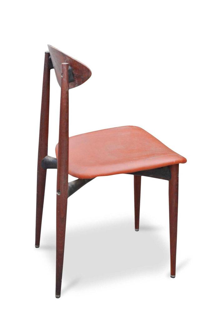 sei sedie vintage danesi