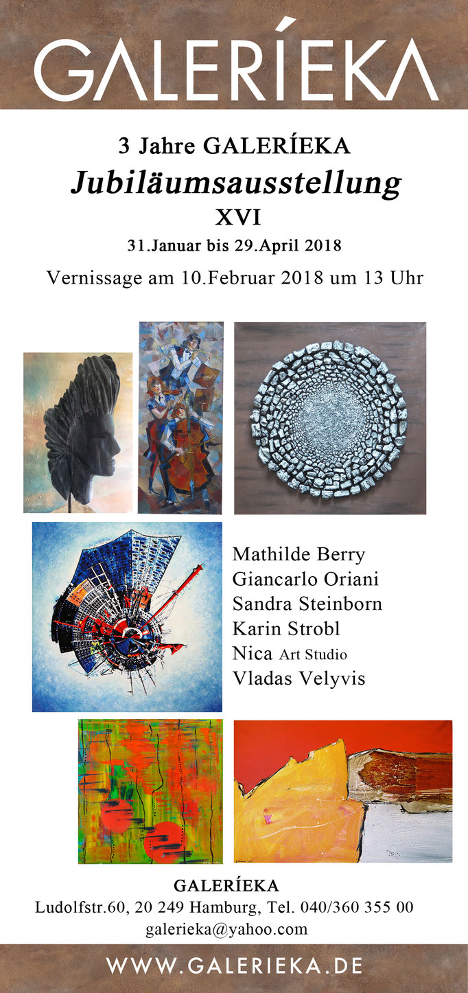 Flyer Galerieka January 2018