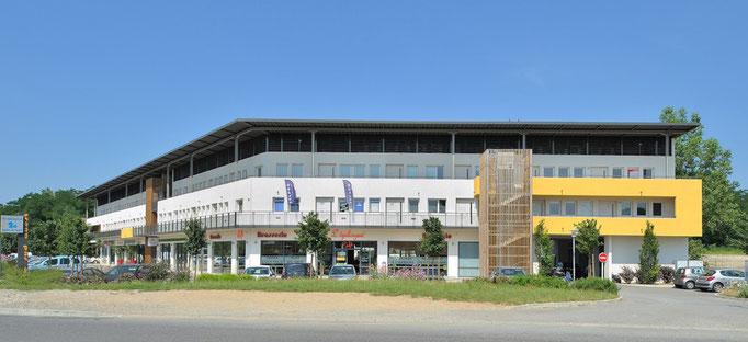 Diapason Immobilier promoteur  Le Sud Ouest  à Brignais en partenariat avec Challenge Investissement en 2005 sur 3300 m²