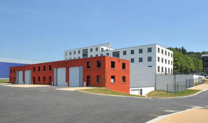 Diapason Immobilier promoteur Park Avenir en partenariat avec Challenge Investissement à Brignais en 2007 sur 9000 m²
