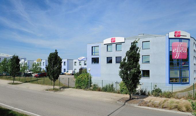 Diapason Immobilier promoteur  West Park en collaboration avec Challenge Investissement à Brignais en 2002