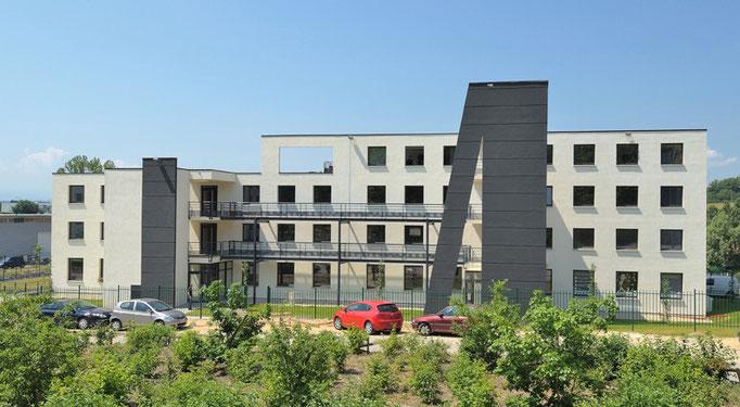 Diapason Immobilier promoteur Park Avenir II à Brignais en 2010 sur 4800 m²