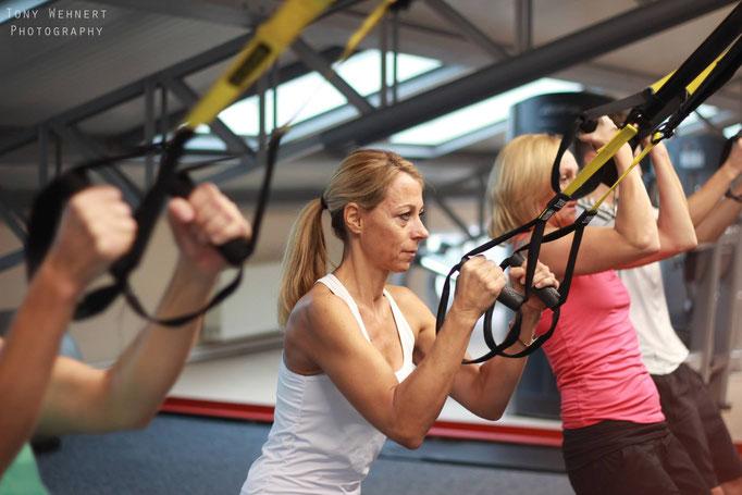 Fitness Studio Werbeaufnahmen