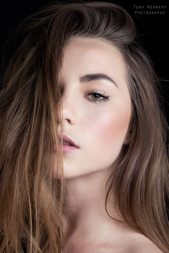 Beauty Portrait im Studio