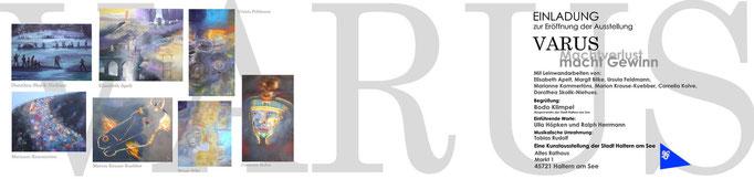 VARUS Machtverlust-macht Gewinn, Einladung Haltern am See