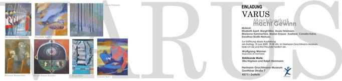 VARUS Machtverlust-macht Gewinn, Einladung Datteln